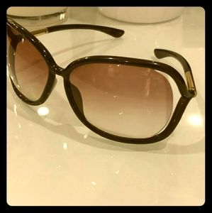 Tom Ford Racquel Oversized Gradient Sunnies